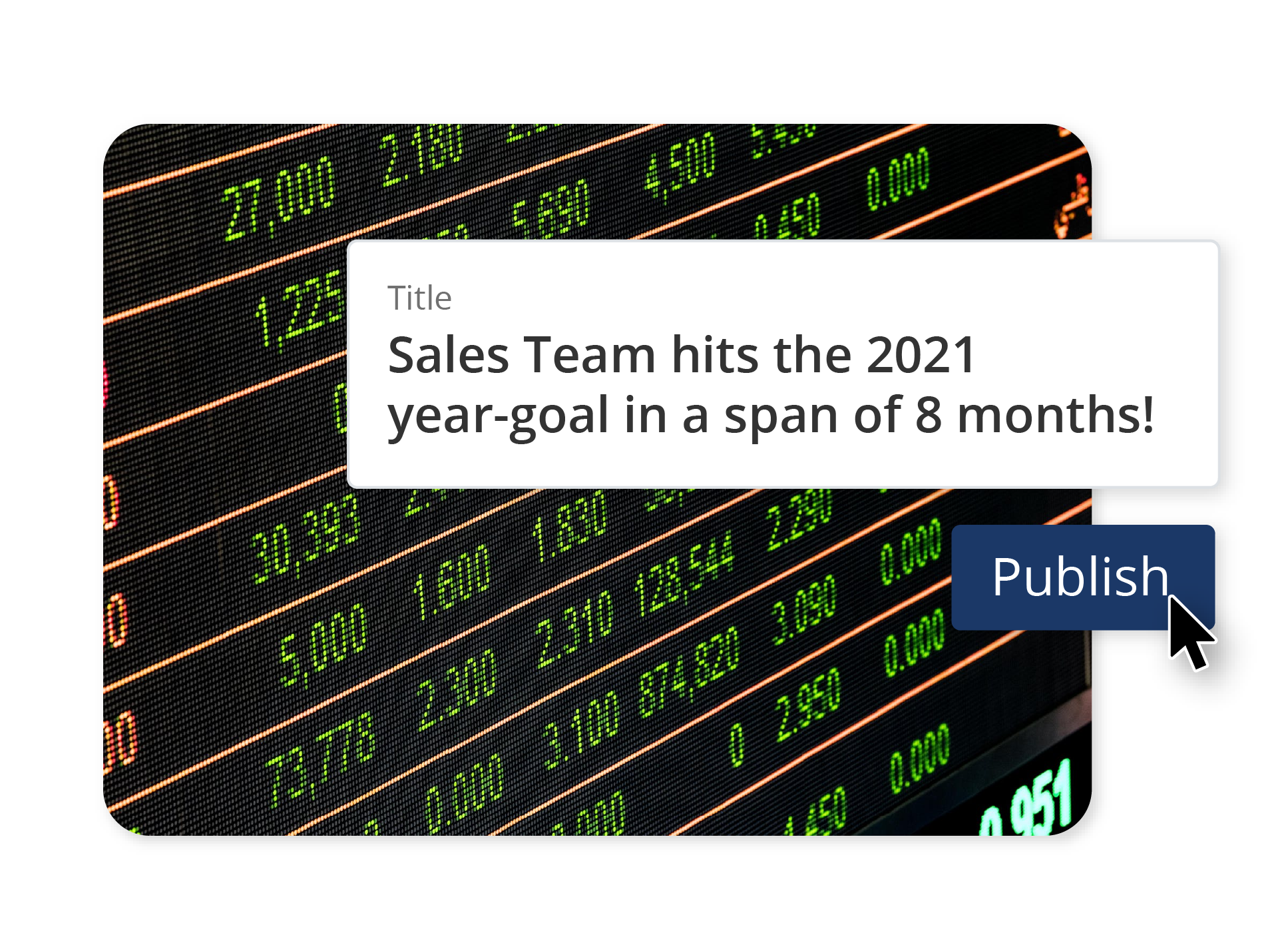 Scenario - Sales Enablement